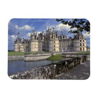 Europe, France, Chambord. Imposing Chateau Magnet