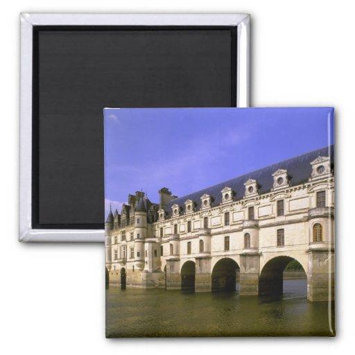 Europe, France, Loire Valley. Chateau Fridge Magnet