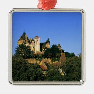 Europe, France, Montforte. The medieval castle Metal Ornament