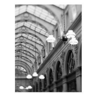 Europe, France, Paris. Interior, Galerie Postcard
