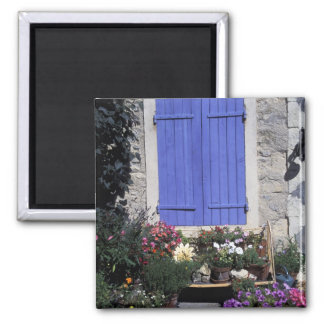 Europe, France, Provence, Aix-en-Provence. Square Magnet
