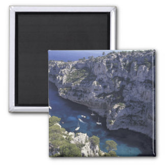 Europe, France, Provence, Calanques. Limestone Magnet