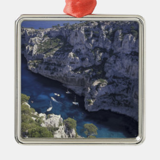 Europe, France, Provence, Calanques. Limestone Metal Ornament