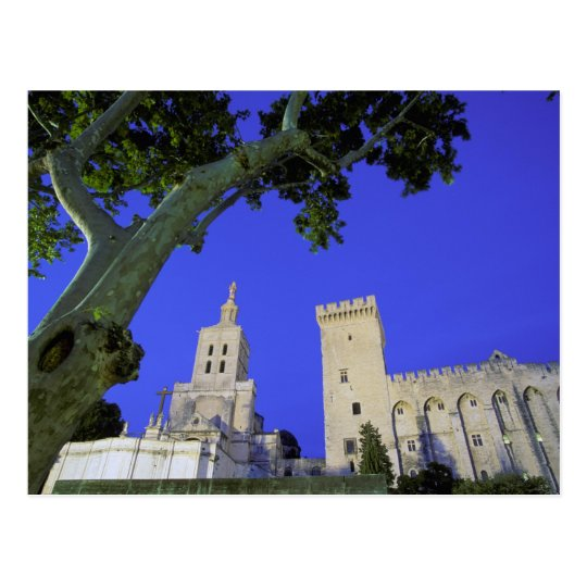 Europe, France, Provence, Vaucluse, Avignon. Postcard