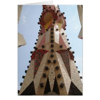 Europe Gaudi Building Card