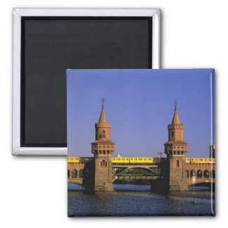 Europe, Germany, Berlin. Kreuzberg, Oberbaum Magnet
