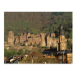 Europe, Germany, Heidelberg. Castle Postcard