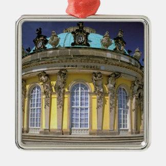 Europe, Germany, Potsdam. Park Sanssouci, 2 Metal Ornament