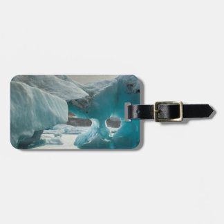 Europe, Iceland, JokUSArlon. Iceberg Formations Luggage Tag