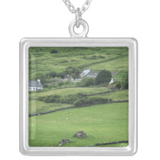 Europe, Ireland, Kerry County, Ring of Kerry. Silver Plated Necklace