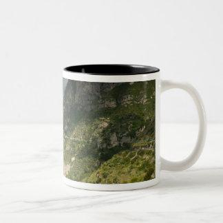 Europe, Italy, Campania (Amalfi Coast) Positano: Two-Tone Coffee Mug