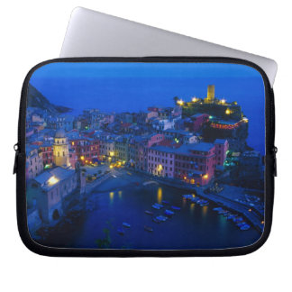 Europe, Italy, Cinque Terre, Vernazza. Hillside Laptop Sleeves