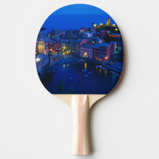 Europe, Italy, Cinque Terre, Vernazza. Hillside Ping Pong Paddle