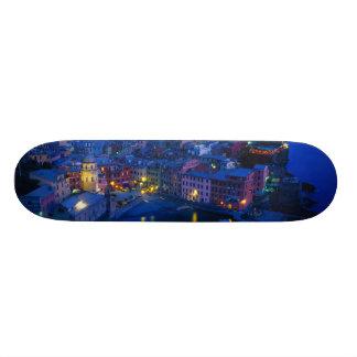 Europe, Italy, Cinque Terre, Vernazza. Hillside Skate Deck