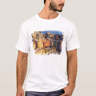 Europe, Italy, Cinque Terre. Village of Vernazza T-Shirt