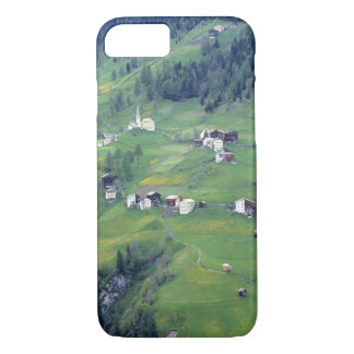 Europe, Italy, Dolomite Alps. This tiny village iPhone 7 Case