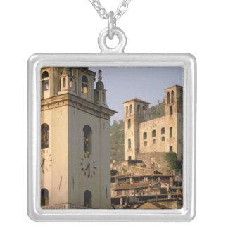 Europe, Italy, Liguria, Dolceacqua: Riviera di Silver Plated Necklace