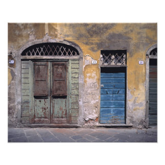 Europe, Italy, Lucca. These old doors add Photo