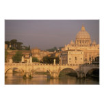 Europe, Italy, Rome, The Vatican. Basilica San Poster