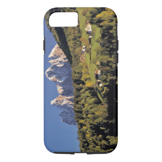 Europe, Italy, San Pietro. The Odle Group seem iPhone 7 Case