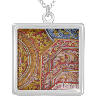 Europe, Italy, Sicily, Taormina. Traditional 2 Silver Plated Necklace