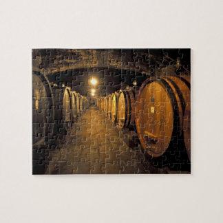 Europe, Italy, Toscana region. Chianti cellars Jigsaw Puzzle
