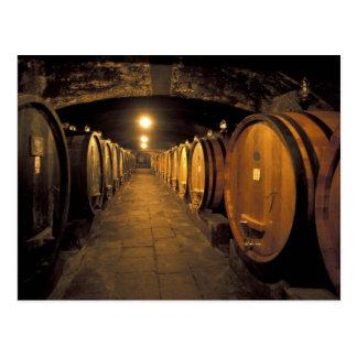 Europe, Italy, Toscana region. Chianti cellars Postcard