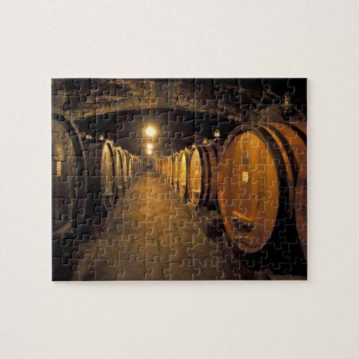 Europe, Italy, Toscana region. Chianti cellars Puzzle