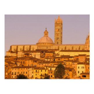 Europe, Italy, Tuscany, Siena. 13th century 2 Postcard