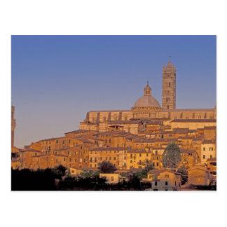 Europe, Italy, Tuscany, Siena. 13th century 3 Postcard