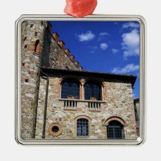 Europe, Italy, Umbria, Chianti, Montebenichi. Metal Ornament