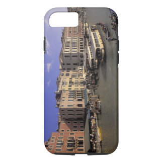 Europe, Italy, Venice, Boat traffic by Rialto iPhone 7 Case