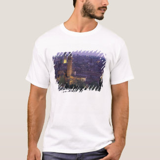 Europe, Italy, Verona, View from the Castel S. T-Shirt