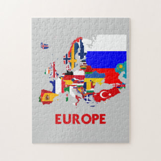 EUROPE MAP JIGSAW PUZZLE