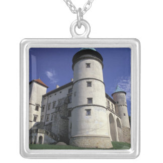 EUROPE, Poland, Carpathian Mts., Nowy Wisnicz Silver Plated Necklace