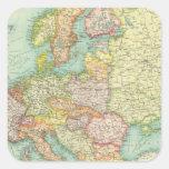 Europe political Map Sticker