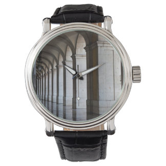 Europe, Portugal, Lisbon. Columns Of The Arcade Wrist Watches