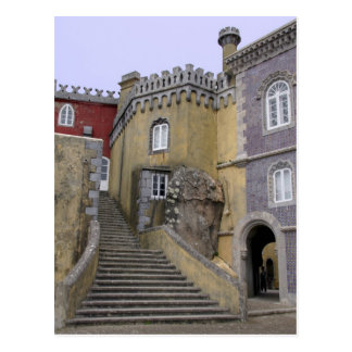 Europe, Portugal, Sintra. The Pena National 2 Postcard