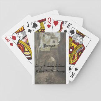 -Europe, pray/Set of cards