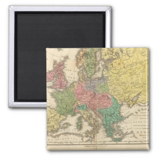 Europe Religion Atlas Map Magnet