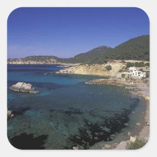 Europe, Spain, Balearics, Ibiza, Cala de Stickers