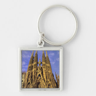 Europe, Spain, Barcelona, Sagrada Familia Keychain