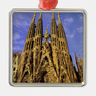 Europe, Spain, Barcelona, Sagrada Familia Metal Ornament