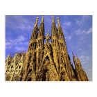 Europe, Spain, Barcelona, Sagrada Familia Postcard