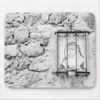 Europe, Spain, Mallorca. The Holy Wall, Mouse Pad