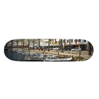 Europe, Spain, Minorca (aka Menorca). Fishing Skateboards