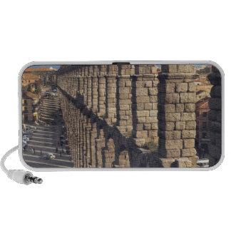 Europe, Spain, Segovia. Late light casts shadows Notebook Speakers