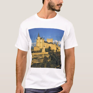 Europe, Spain, Segovia. The imposing Alcazar, T-Shirt