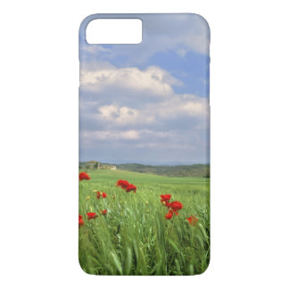 Europe, Tuscany, Poggiolo. Red poppies sway iPhone 7 Plus Case