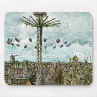 European Afternoon IV Mouse Pad